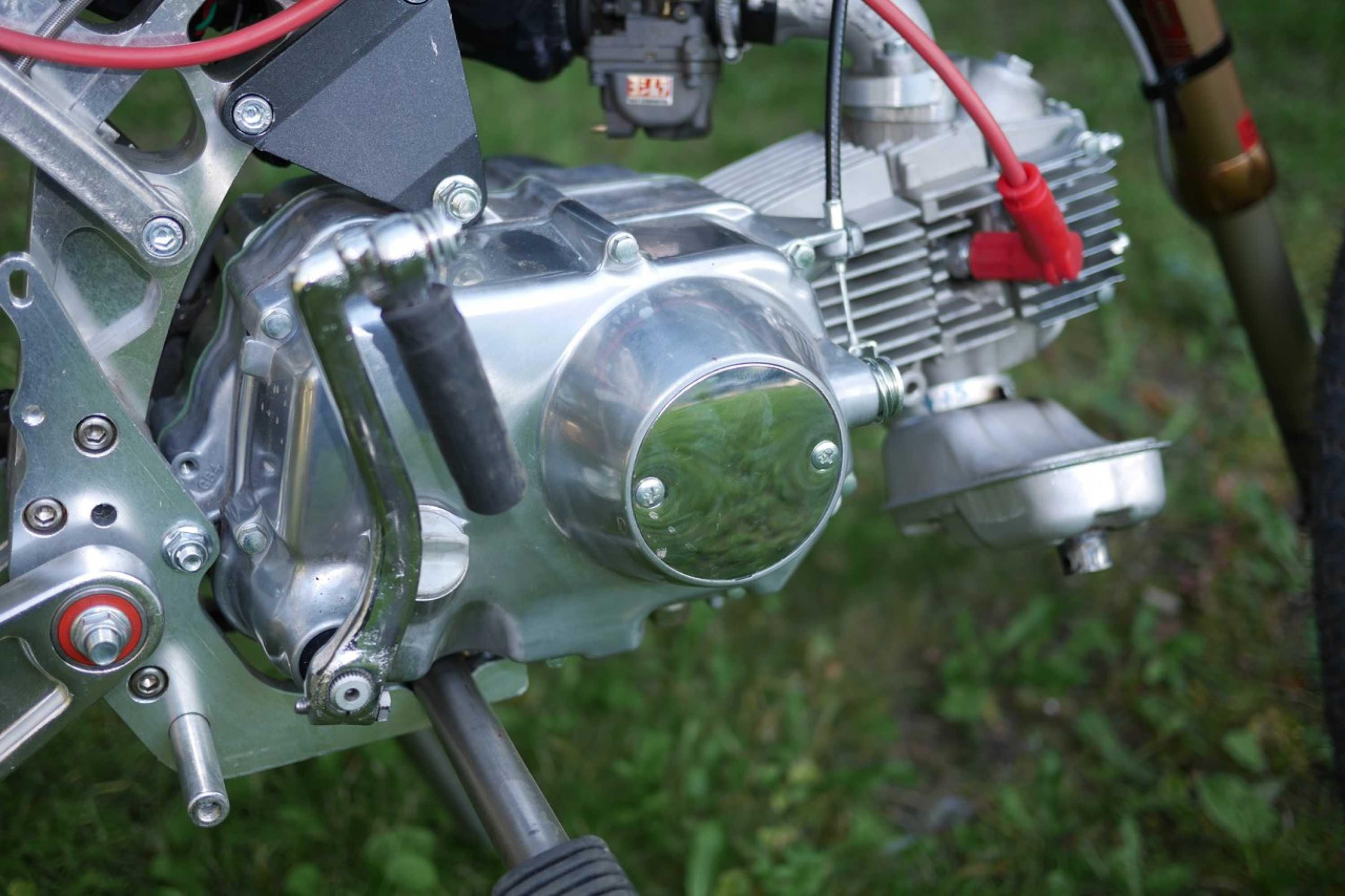 Как сделать самодельный двигатель для мопеда